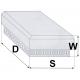 Wentylator dachowy WRFD 570/230