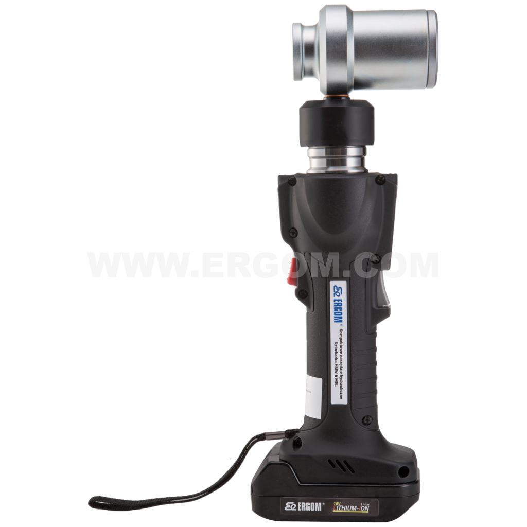 Hydrauliczno-elektryczne narzędzie wycinające do blach HNW 6 MEL