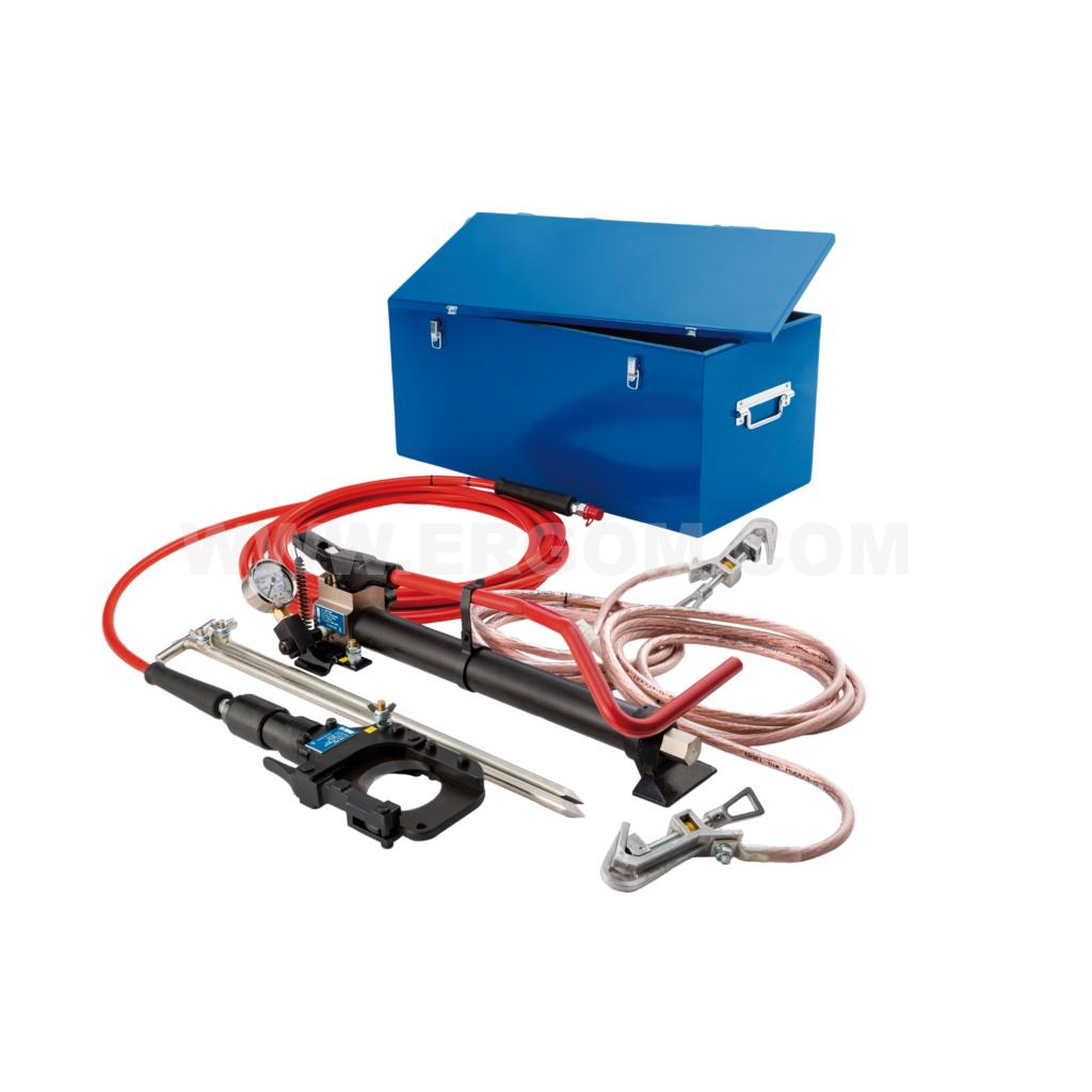 Narzędzia do bezpiecznego cięcia kabli mogących znajdować się pod napięciem
