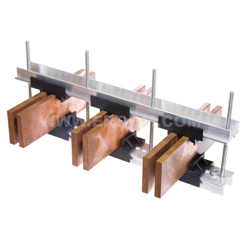 System BB-M4000A – mocowania szyn zbiorczych