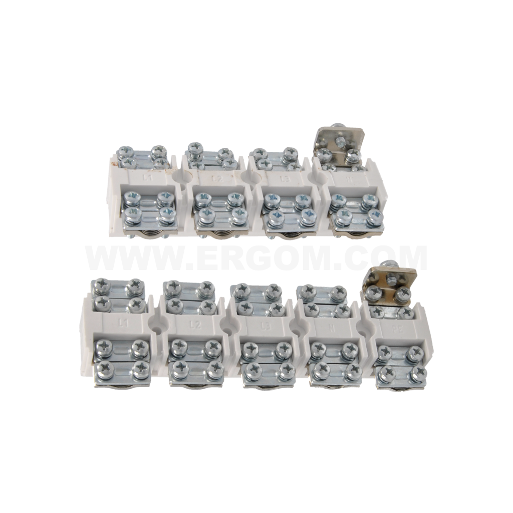 4- and 5-circuit screw connectors for 6÷95 mm² wires
