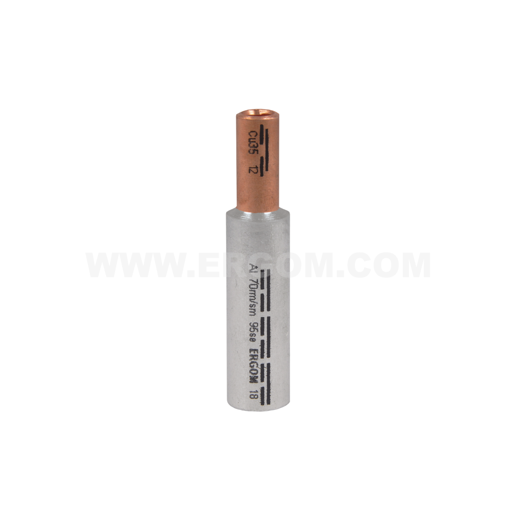 Aluminium-copper connectors, LMAN type