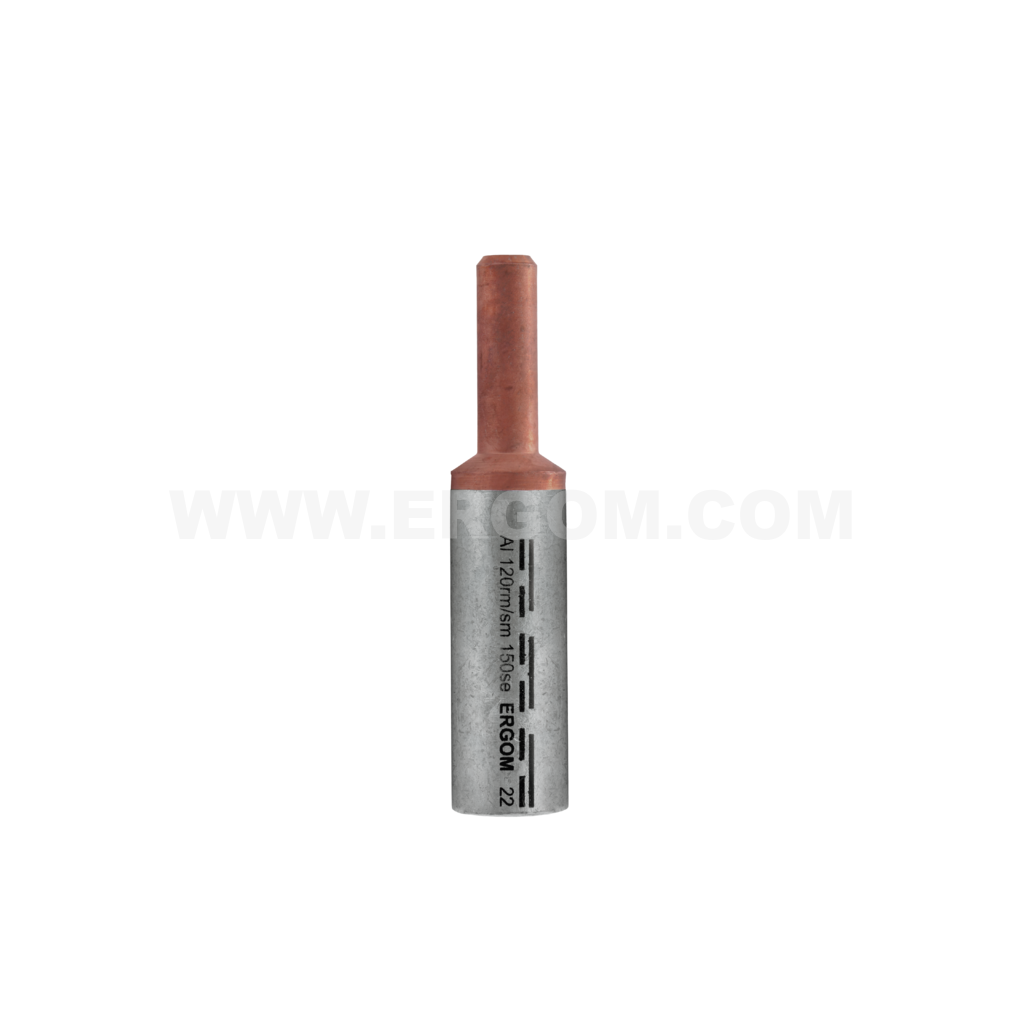 Aluminium-copper pin terminals BMAN type