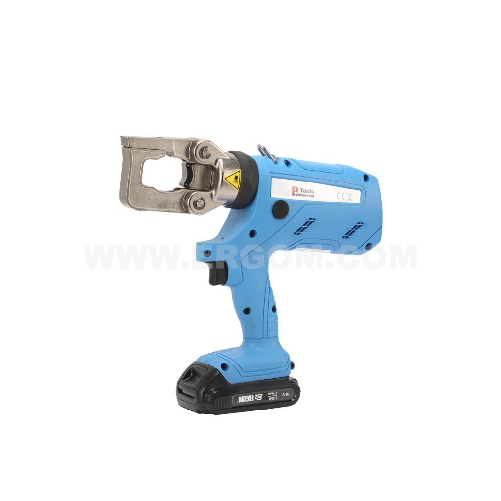 Battery-powered professional hydraulic crimping tool, HKP 5 D EL