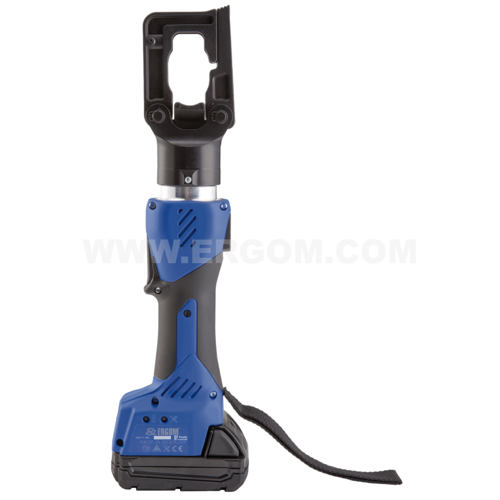 Battery-powered professional hydraulic mini crimping tool, HKP 5 MEL