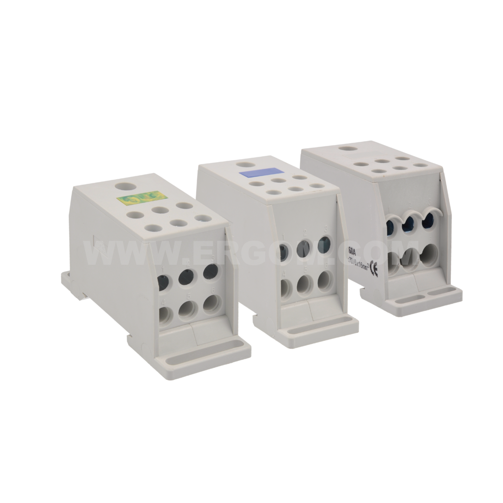 Compact distribution blocks, BRC 35 - 70 type  690V