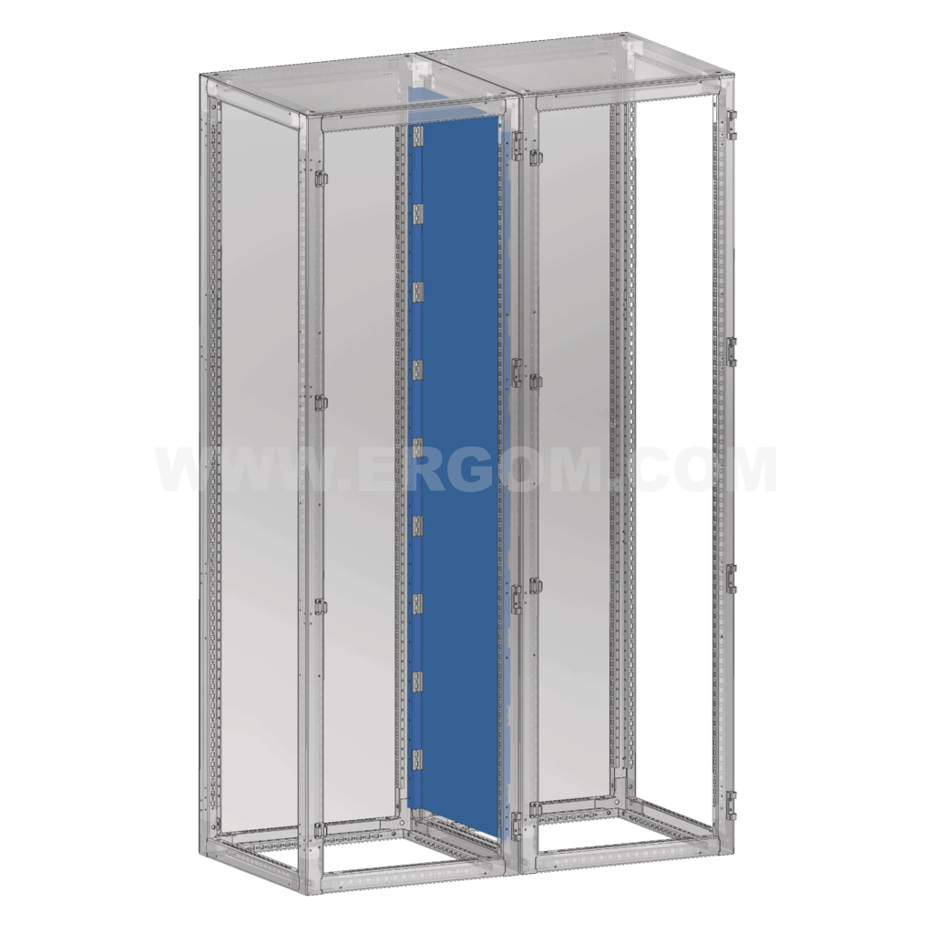 2-door enclosure compartment wall, RWSD type