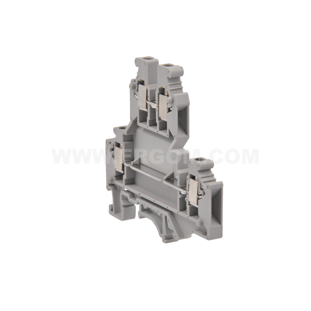 Special double-circuit connector, ZJUP-4S type: for 4 mm² wires