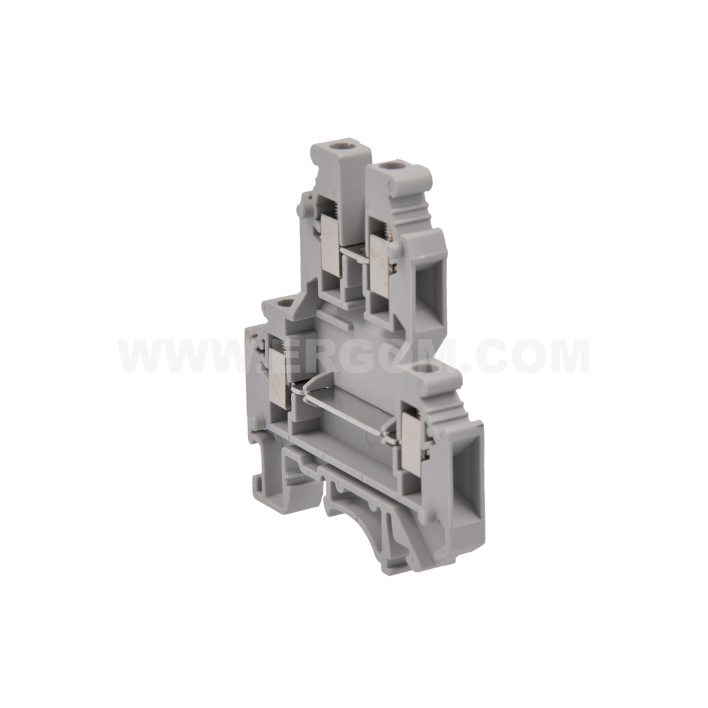 Special double-circuit connector, ZJUP- 2,5 type: for 2.5 mm² wires