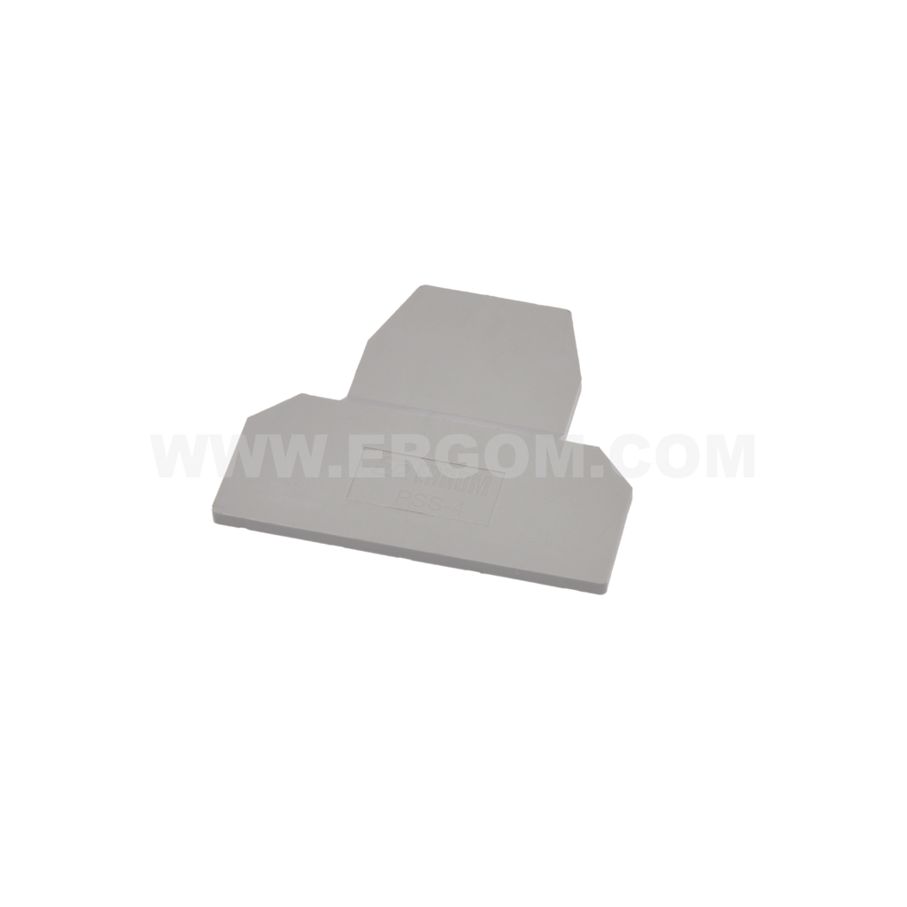 End plate, PSS-4, for standard screw terminals, ZJUP type