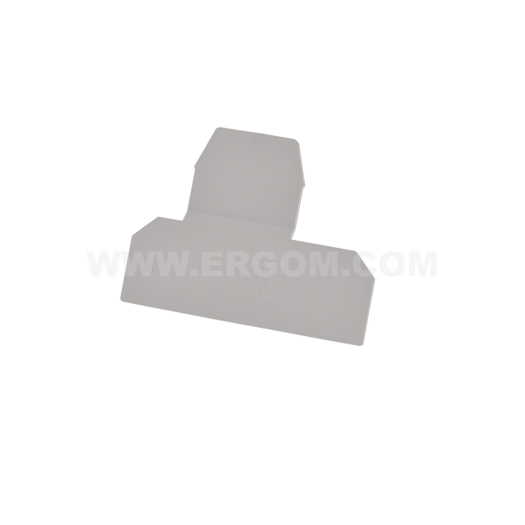 End plate, PSS-4S, for standard screw terminals, ZJUP type