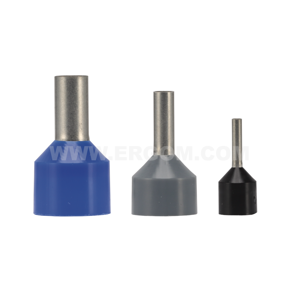 Insulated cord end terminals with thicker insulation, HIG type