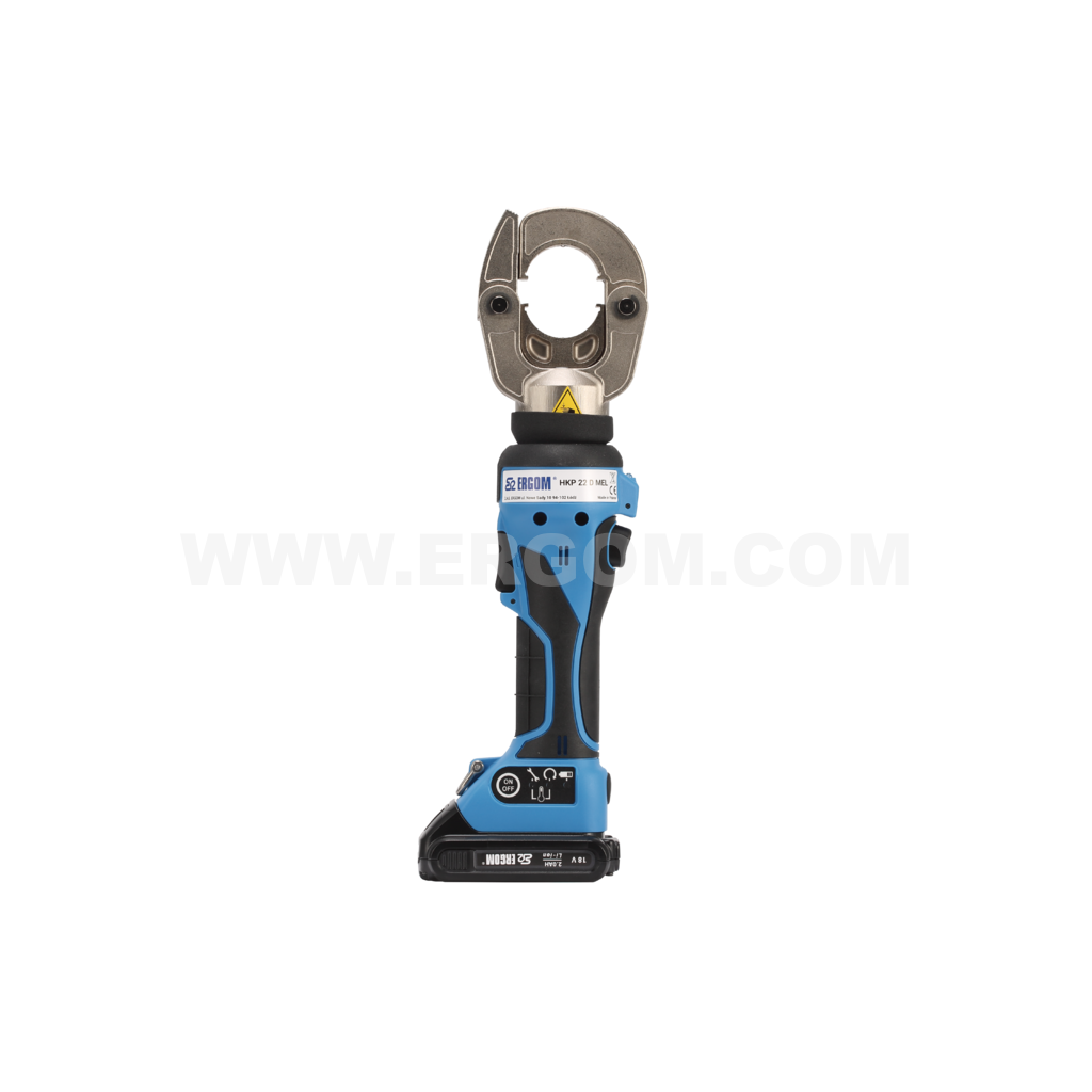 Battery-powered professional hydraulic crimping tool, HKP 22 D MEL