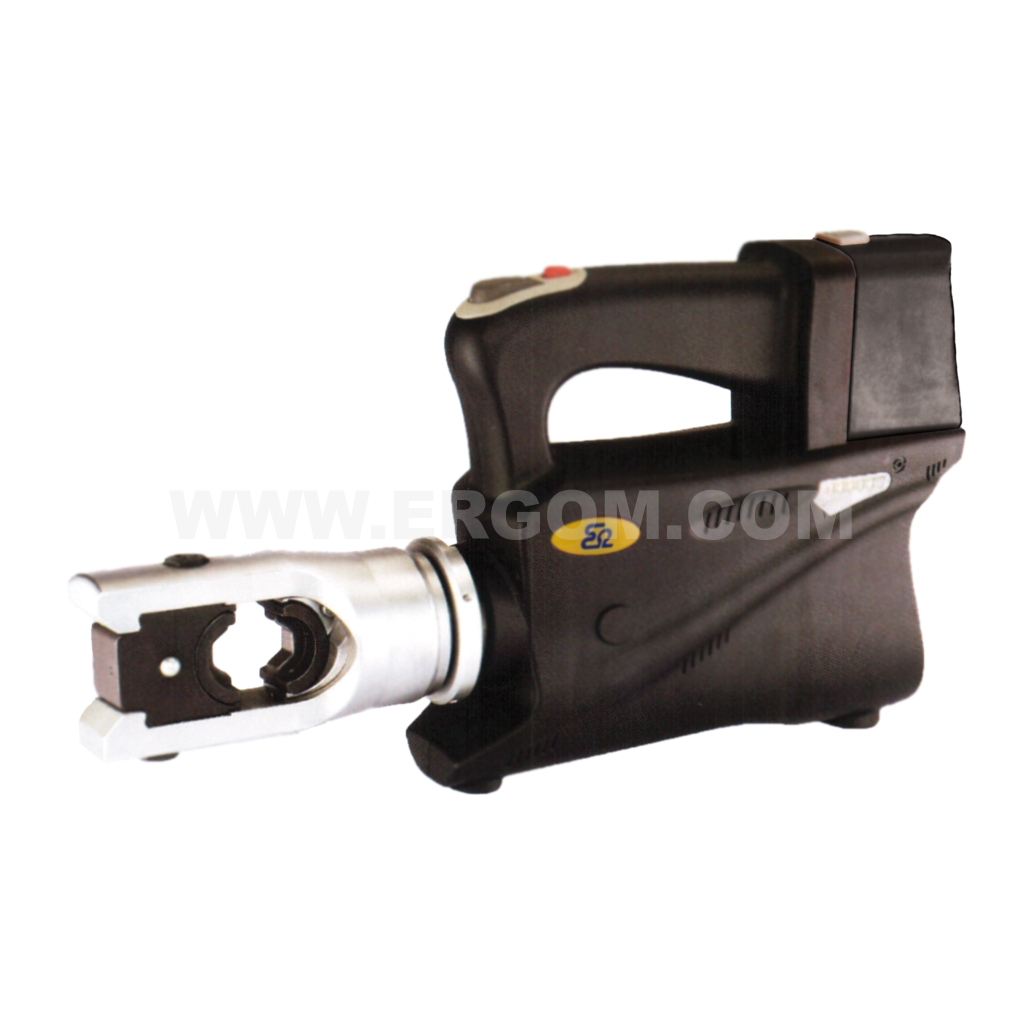 Battery-powered hydraulic crimping tool, HO 2 EH