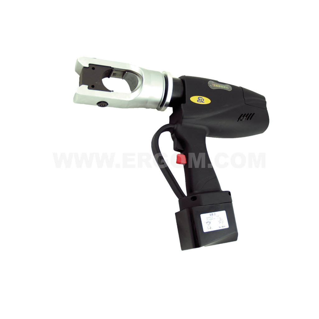 Battery-powered hydraulic crimping tool, HO 2 EV