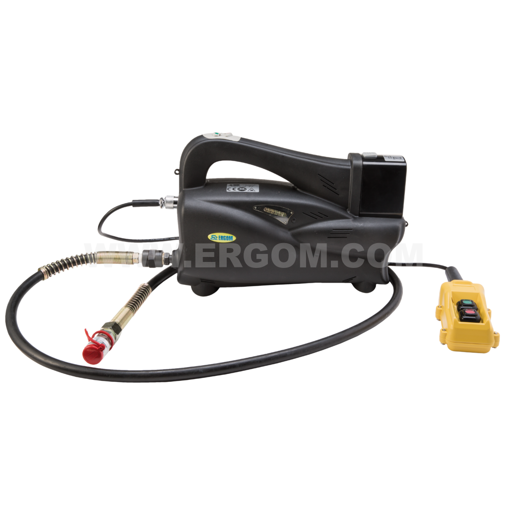 Battery-powered hydraulic pump, PE 700B