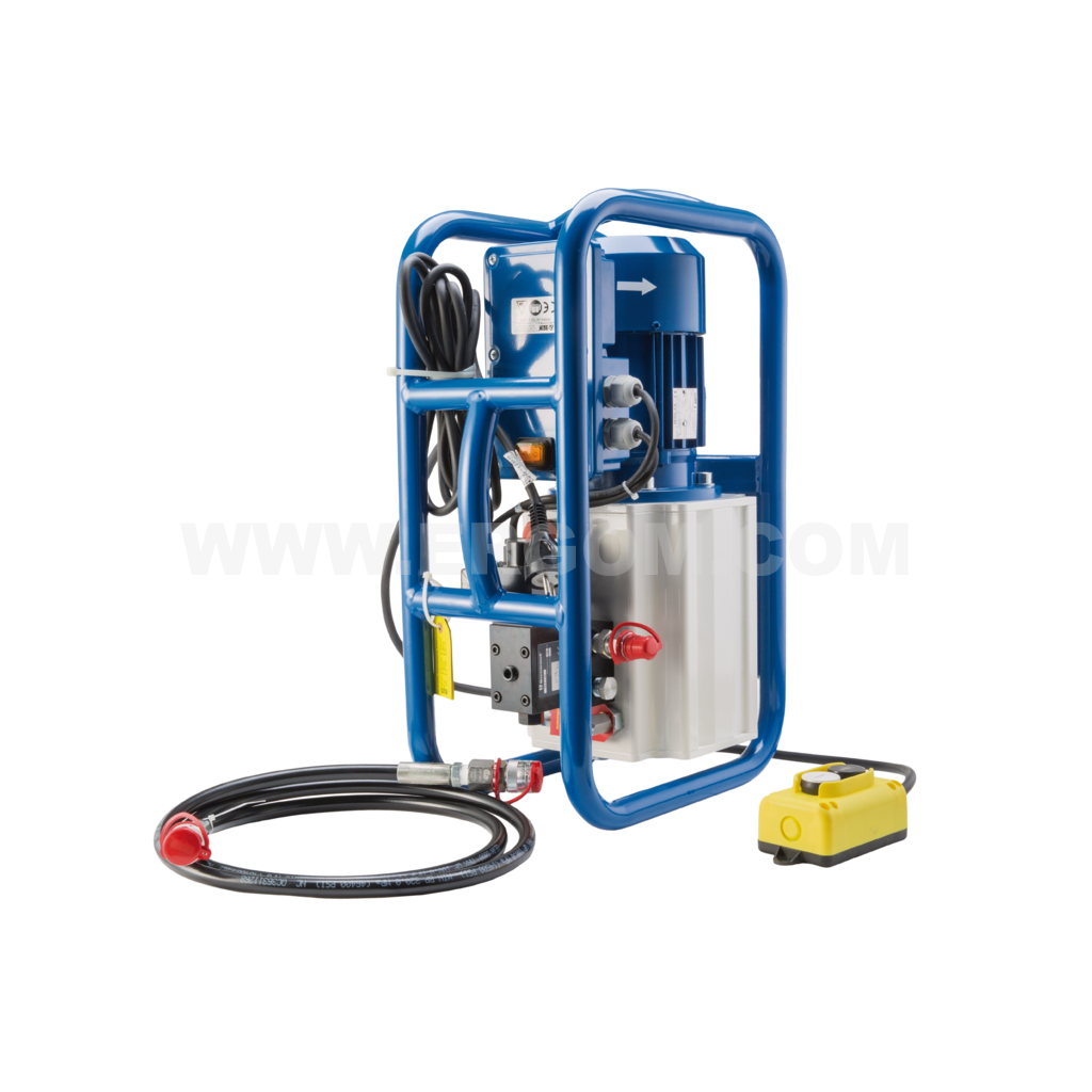 Battery-powered hydraulic pump, HE 702 E