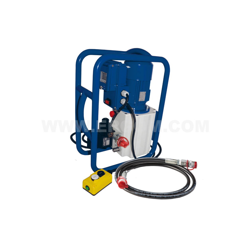 Battery-powered hydraulic pump, HE 702 ES