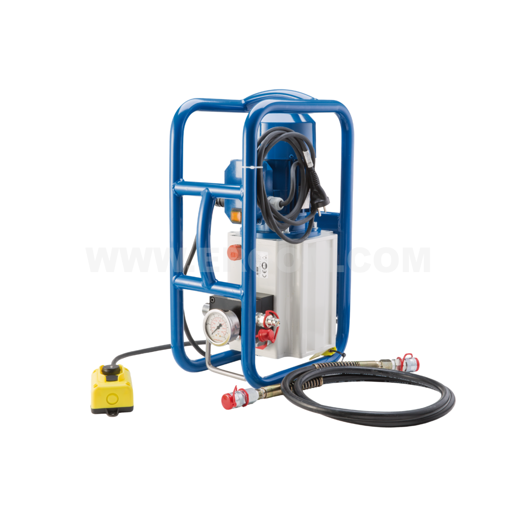 Battery-powered hydraulic pump, HE 702 R