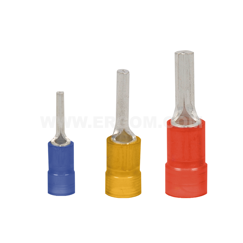 Insulated pin terminals, KII...PC type