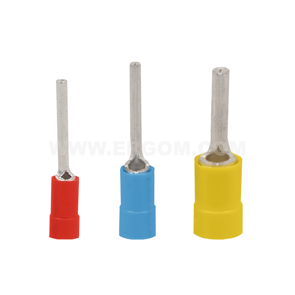 Insulated pin terminals, KII type
