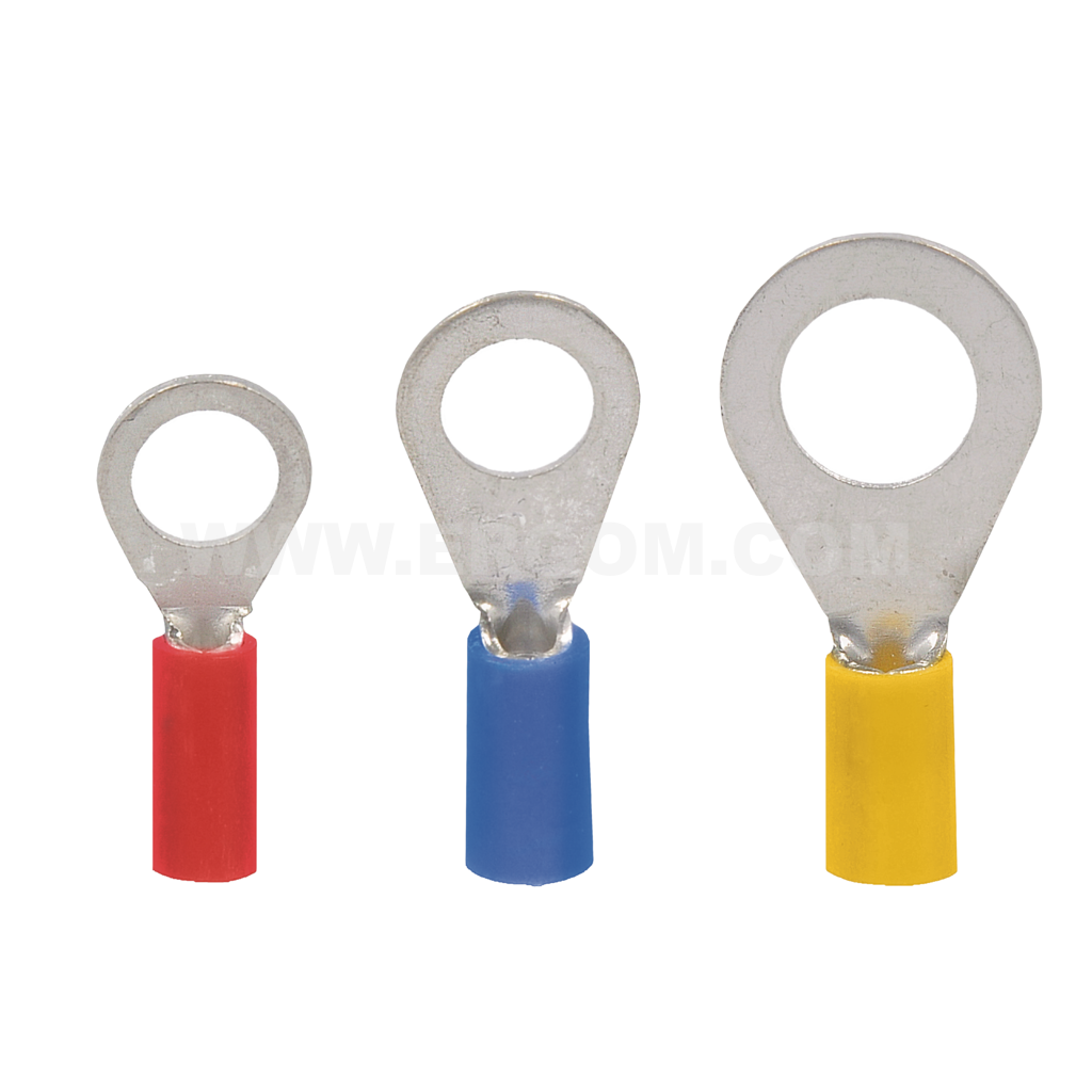 Insulated ring terminals, KOI...PCV type