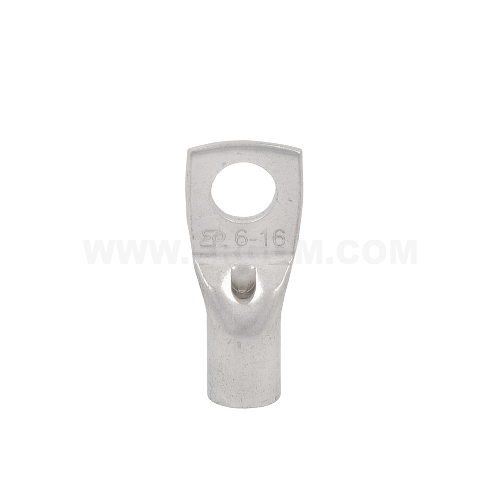 Low-cost tubular terminals with inspection hole, KREo type