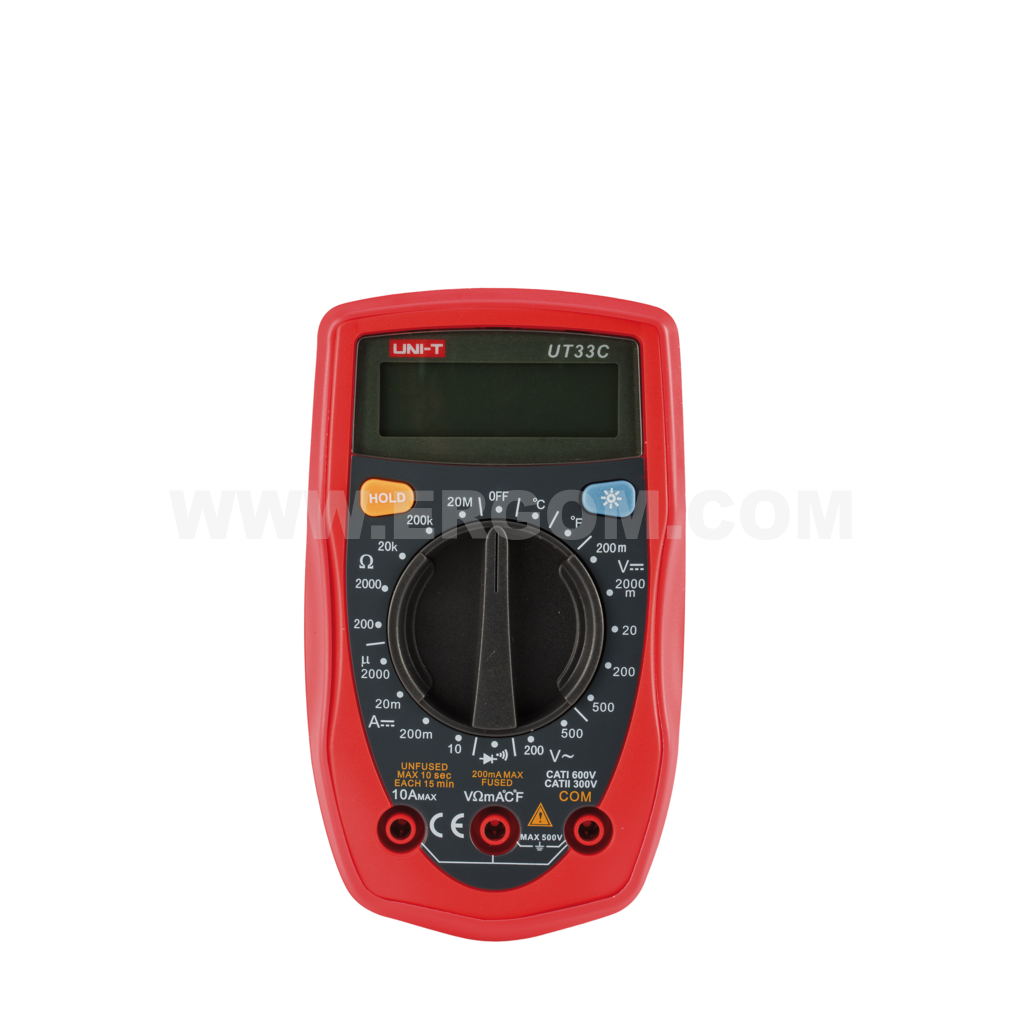 Digital multimeter, UT33C