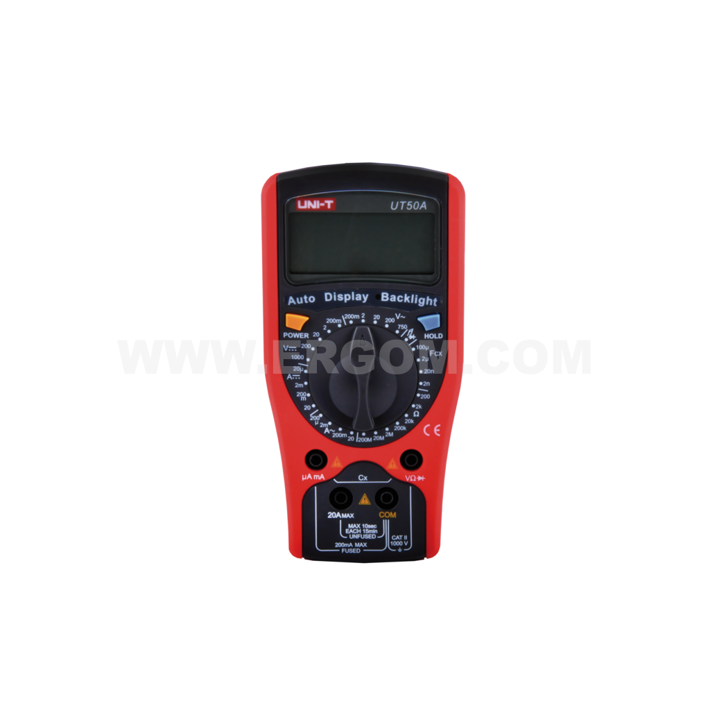 Digital multimeter, UT50A