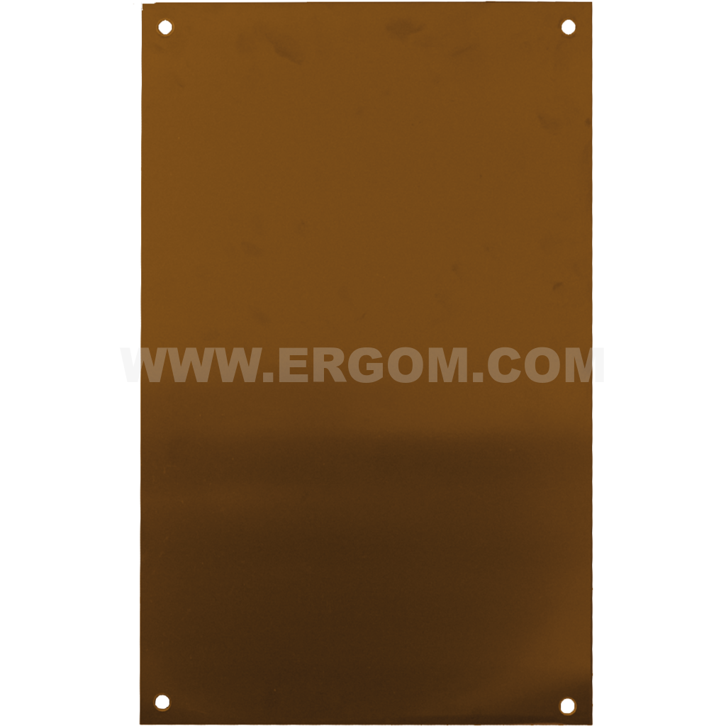 Insulating mounting plate, P4 type