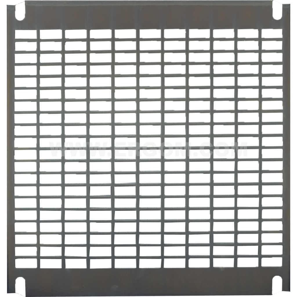 Perforated mounting plate, P3 type