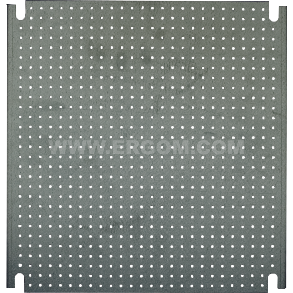 Mounting plate with micro-perforation, P2 type