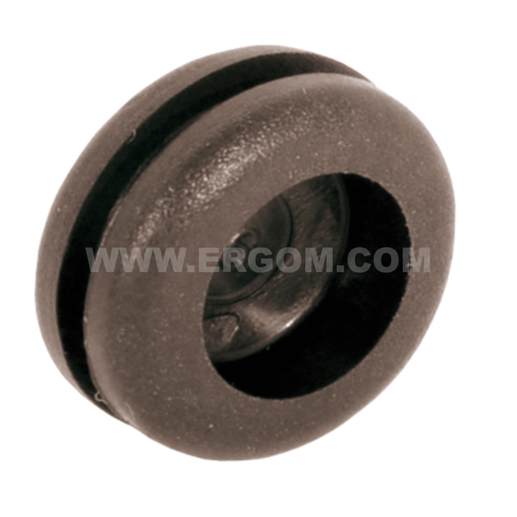 Flexible grommets with baffle, PP type