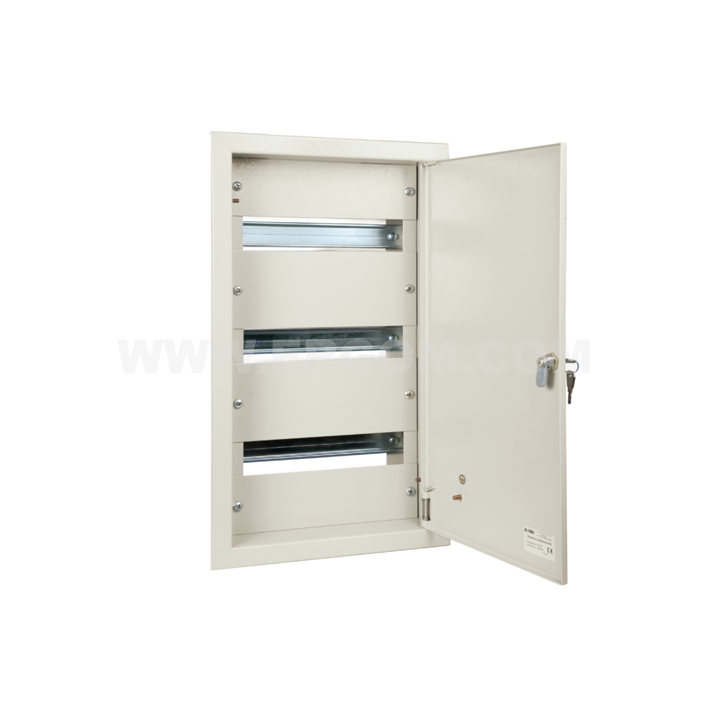 Flush-mounted modular enclosures, RM type
