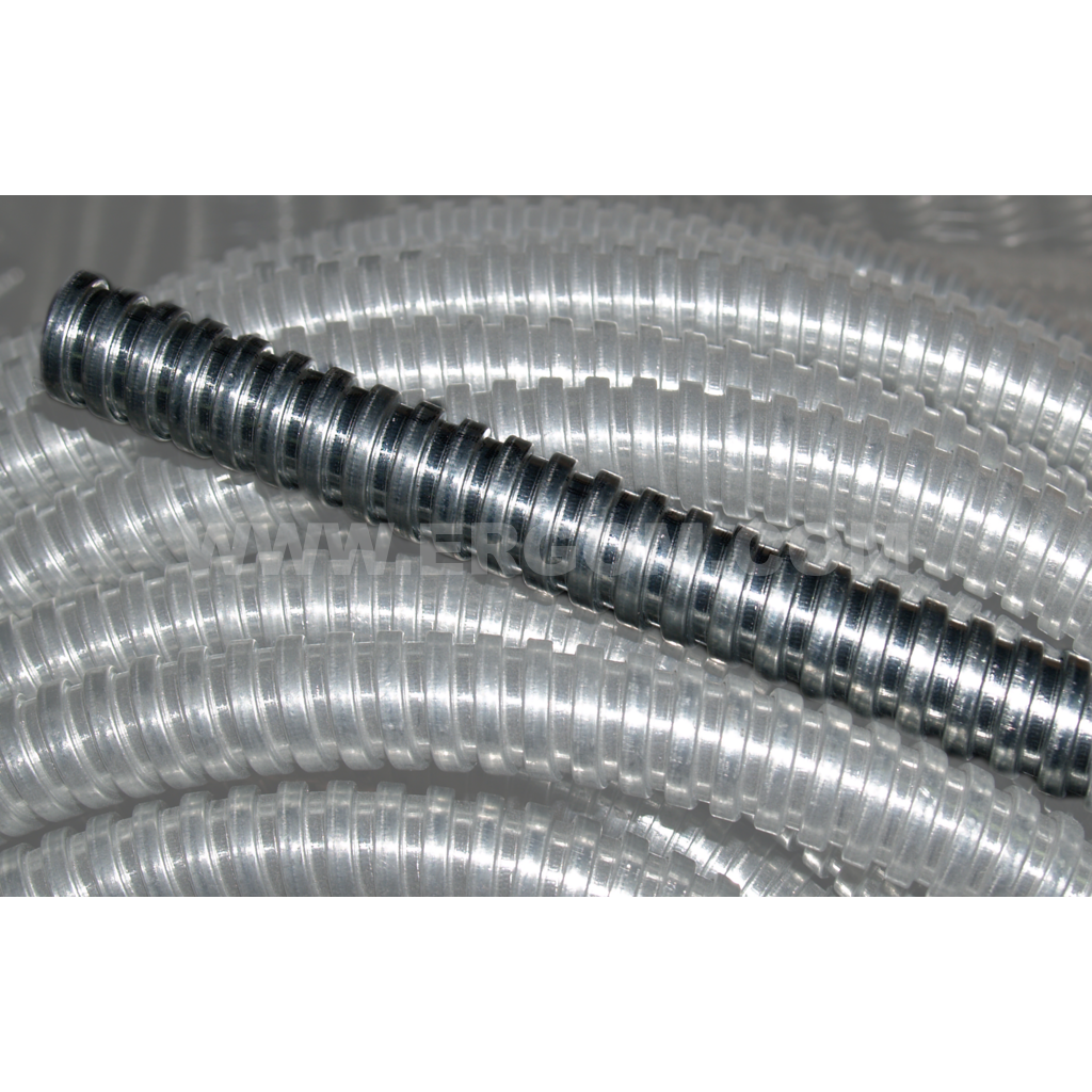 Flexible conduit made of galvanized steel, WO type