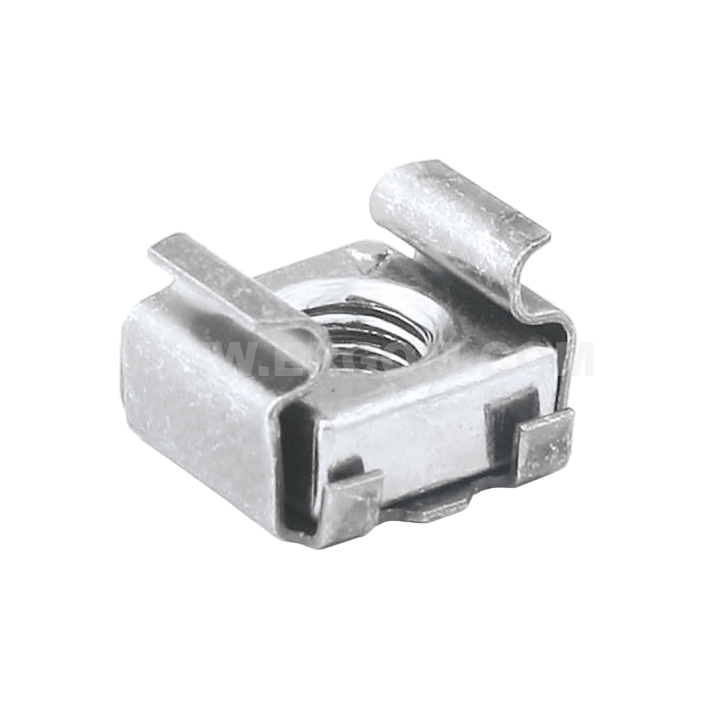 Self-locking nuts for screw fixing