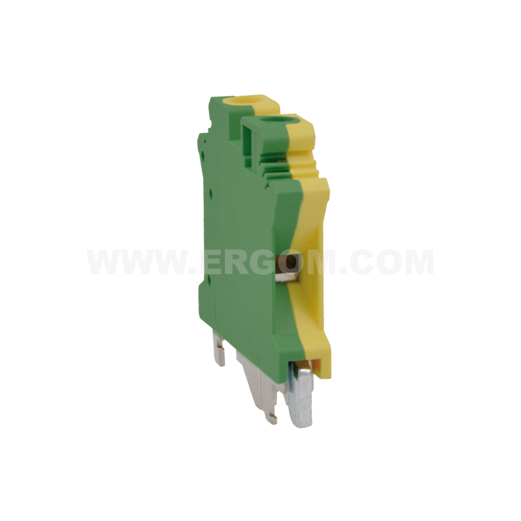 Single-circuit connector, ZJU2-6PE type: for 6 mm² wires   800V