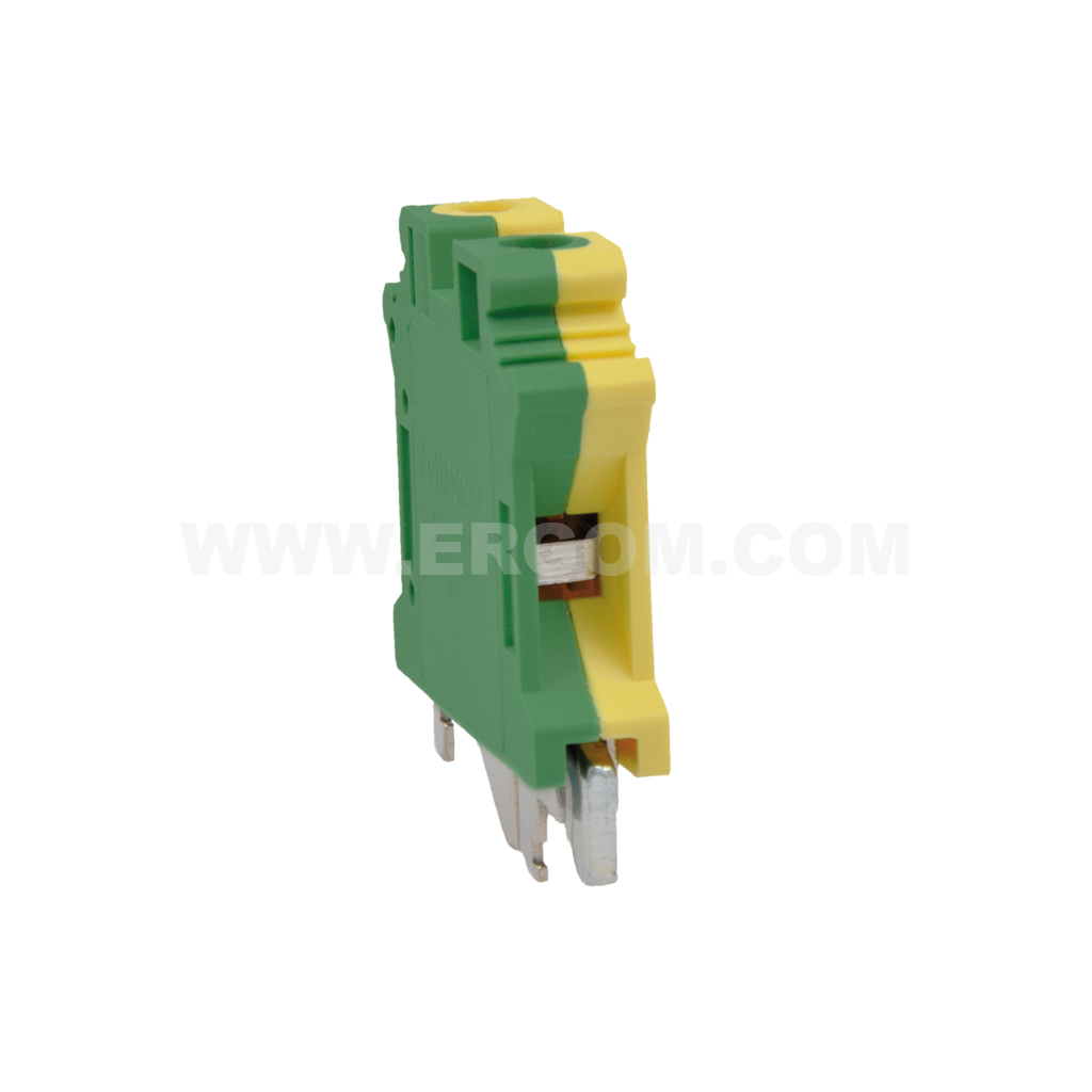 Single-circuit connector, ZJU2-10PE type: for 10 mm² wires   800V