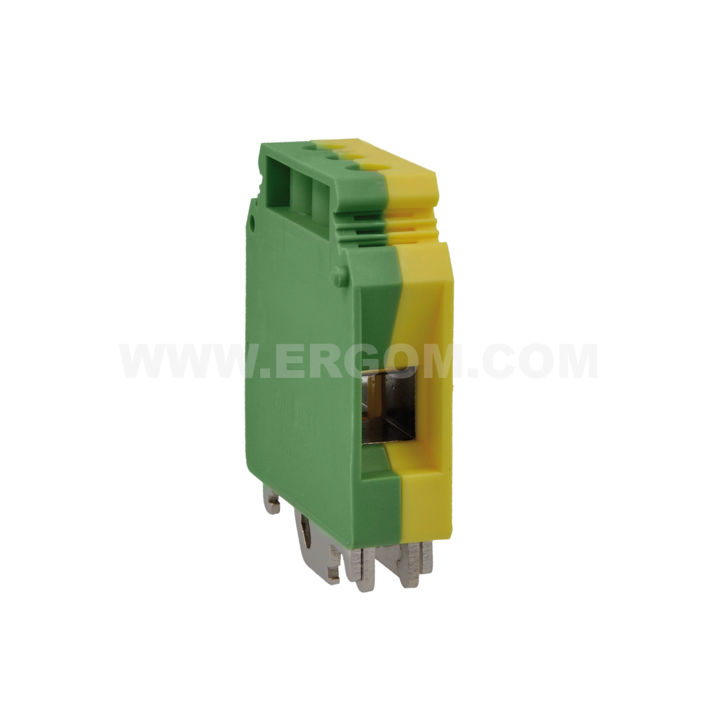 Single-circuit connector, ZJU2-35PE type: for 35 mm² wires   800V