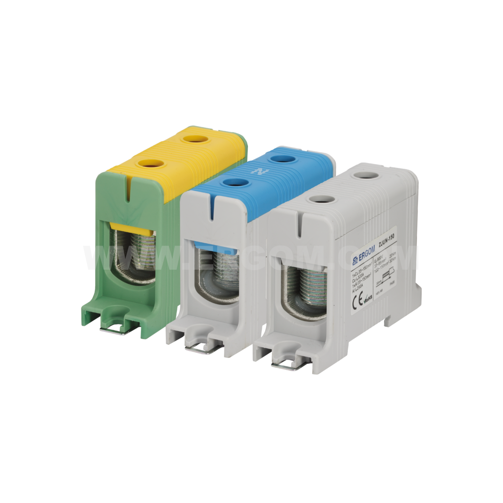 Single-circuit connector ZJUN-150 type: for 150 mm² wires   1000V