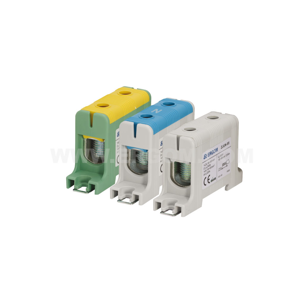 Single-circuit connector ZJUN-95 type: for 95 mm² wires   1000V