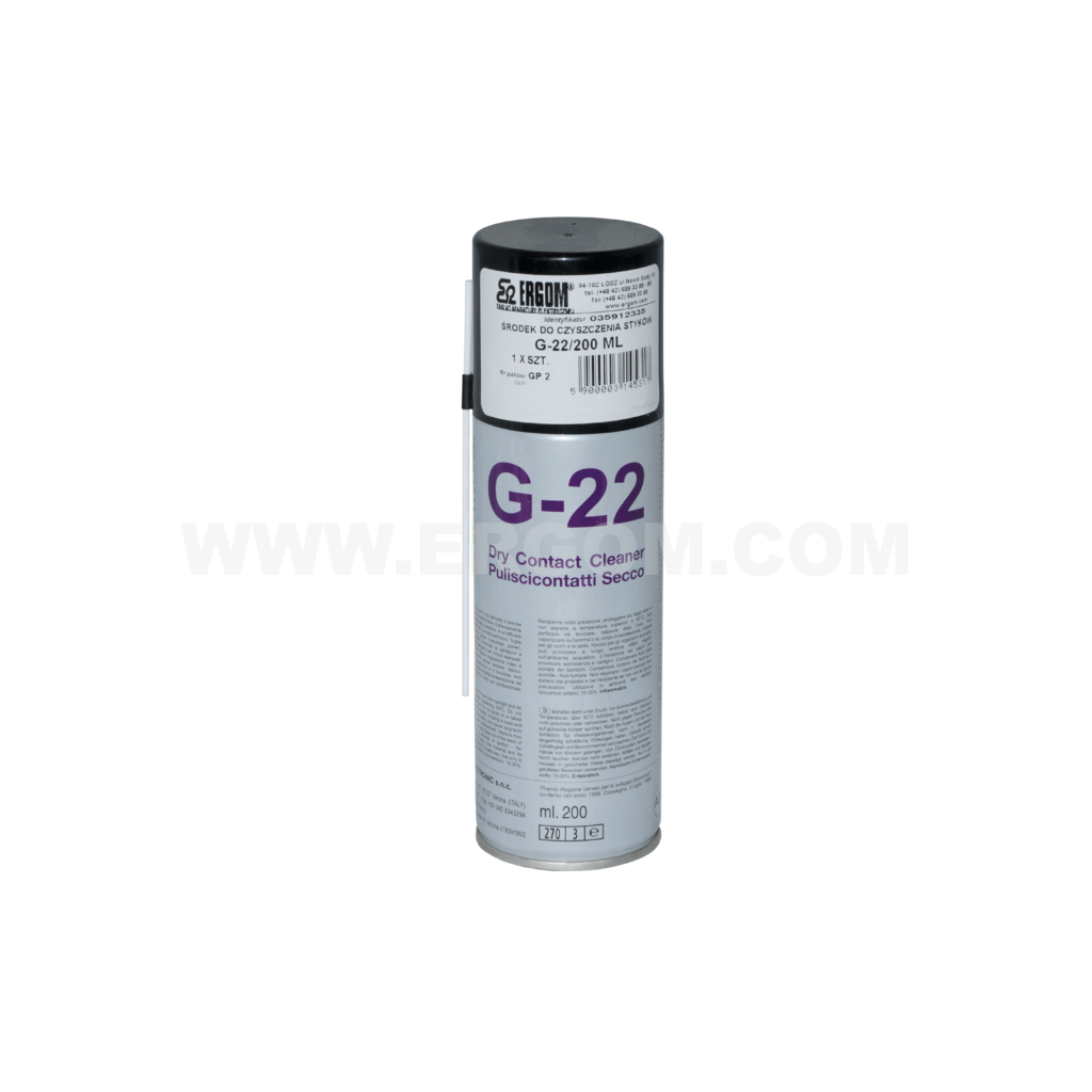 Contact cleaner, G-22