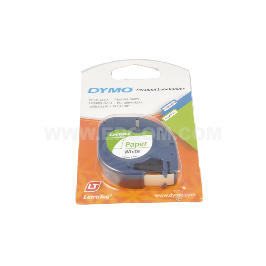 Printer tape, DYMO LETRA Tag LT-100H