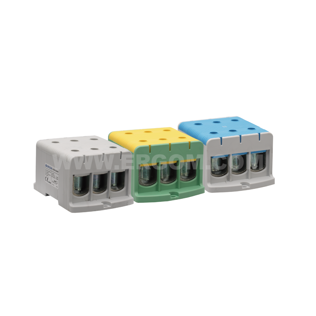 Triply-circuit connector, ZJUN-3x240 type: for 240 mm² wires   800V