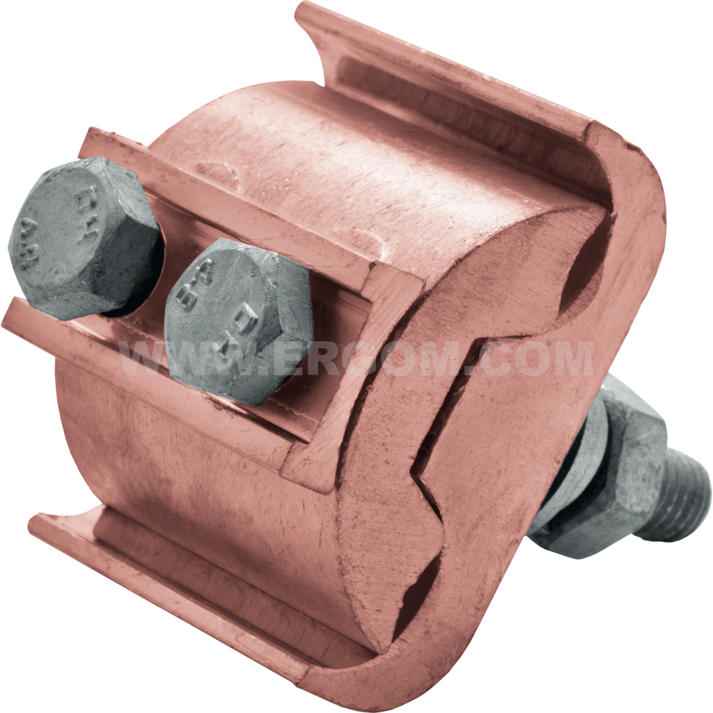Branch clamps uninsulated overhead power lines, ZLN ... /2M type