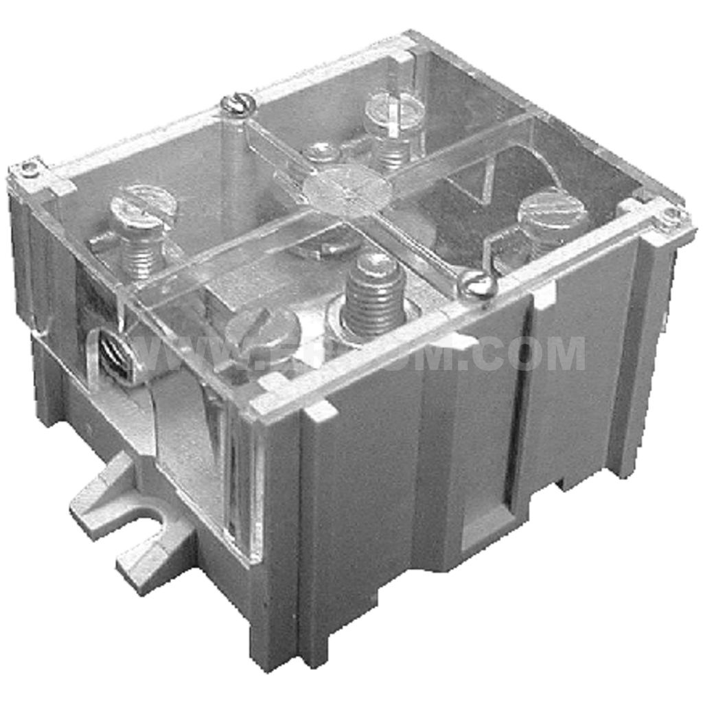 5-circuit, threaded connector, LZG-90/35/P for 6÷95 mm² wires