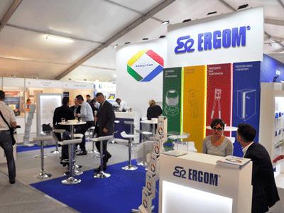 Stoisko Ergom na targach Energetab 2018
