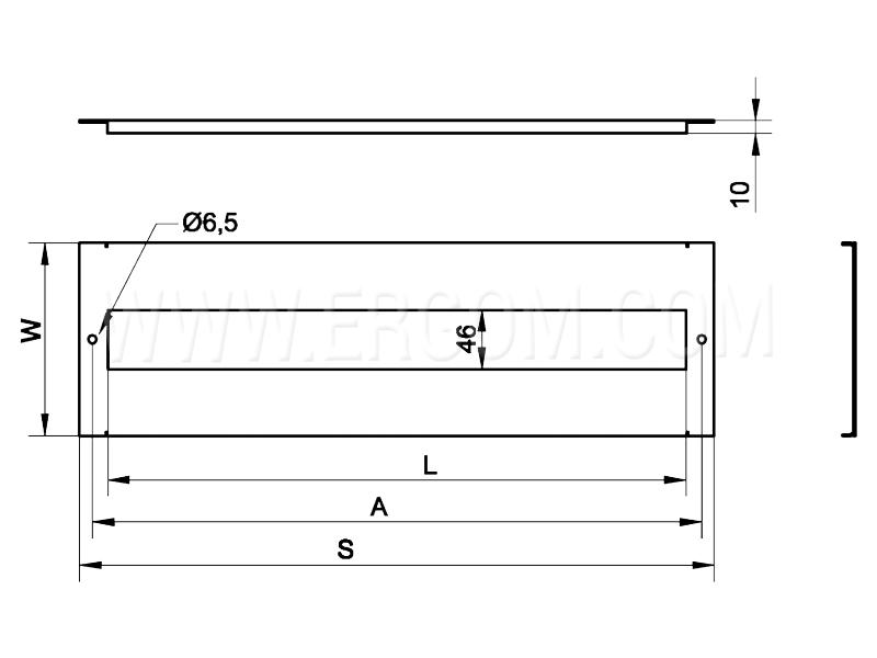 Osłona modułowa RWOM schemat