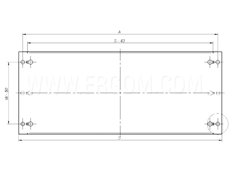 Osłona modułowa RWOP schemat