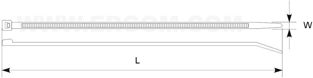 Taśmy kablowe magneto-detekcyjne TKMD-schemat